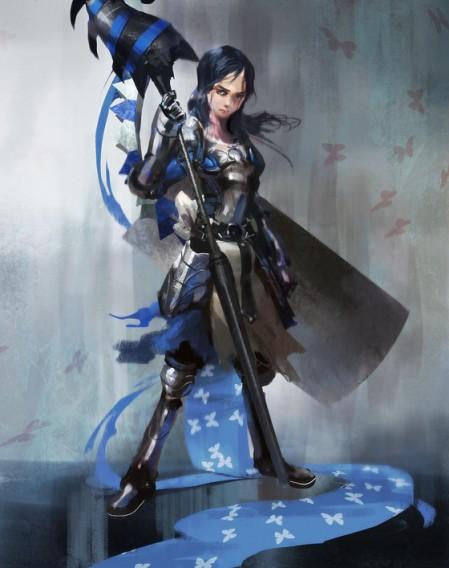 Alice and her attire