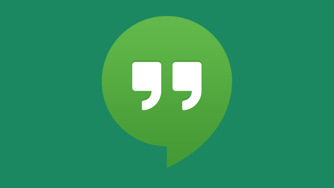 Google Hangouts with SMS available to download