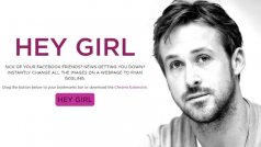 Hey Girl: Ryan Gosling Chrome extension transforms your browsing