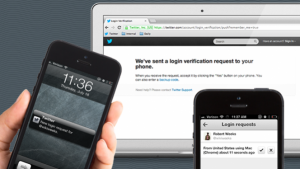 How to use login verification on Twitter mobile apps