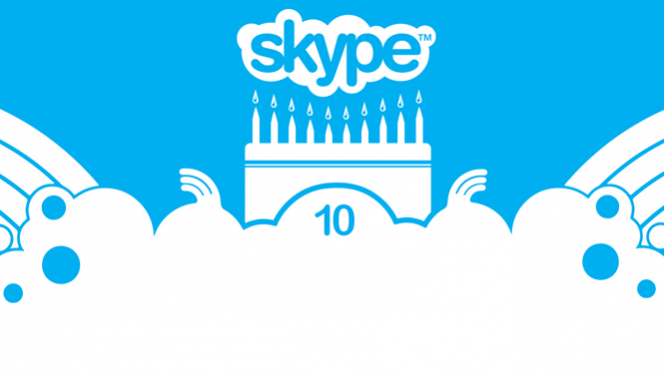 Skype, 10 years young!