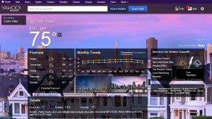 Yahoo! redesigns omg!, Sports, Weather and other sites to match mobile apps