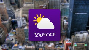 Yahoo!'s new Weather app now on Android