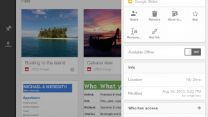 Google Drive for iOS gets redesign, quick sharing