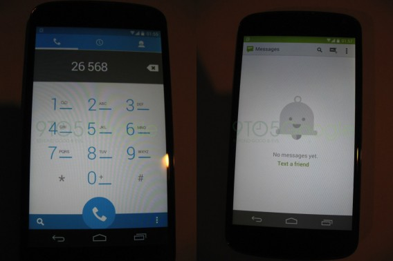 Android 4.4 leaked photos