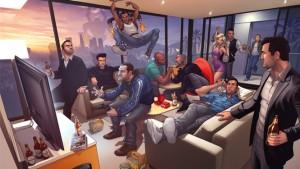 GTA V: A video evolution of the game