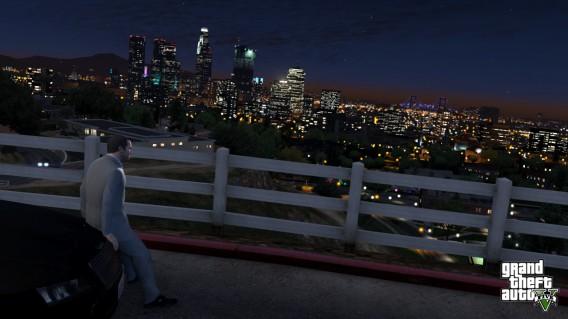 GTAV los santos skyline