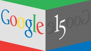 Google celebrates 15 years of organizing the world's information