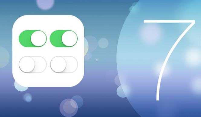 Discovering iOS 7: The Control Center