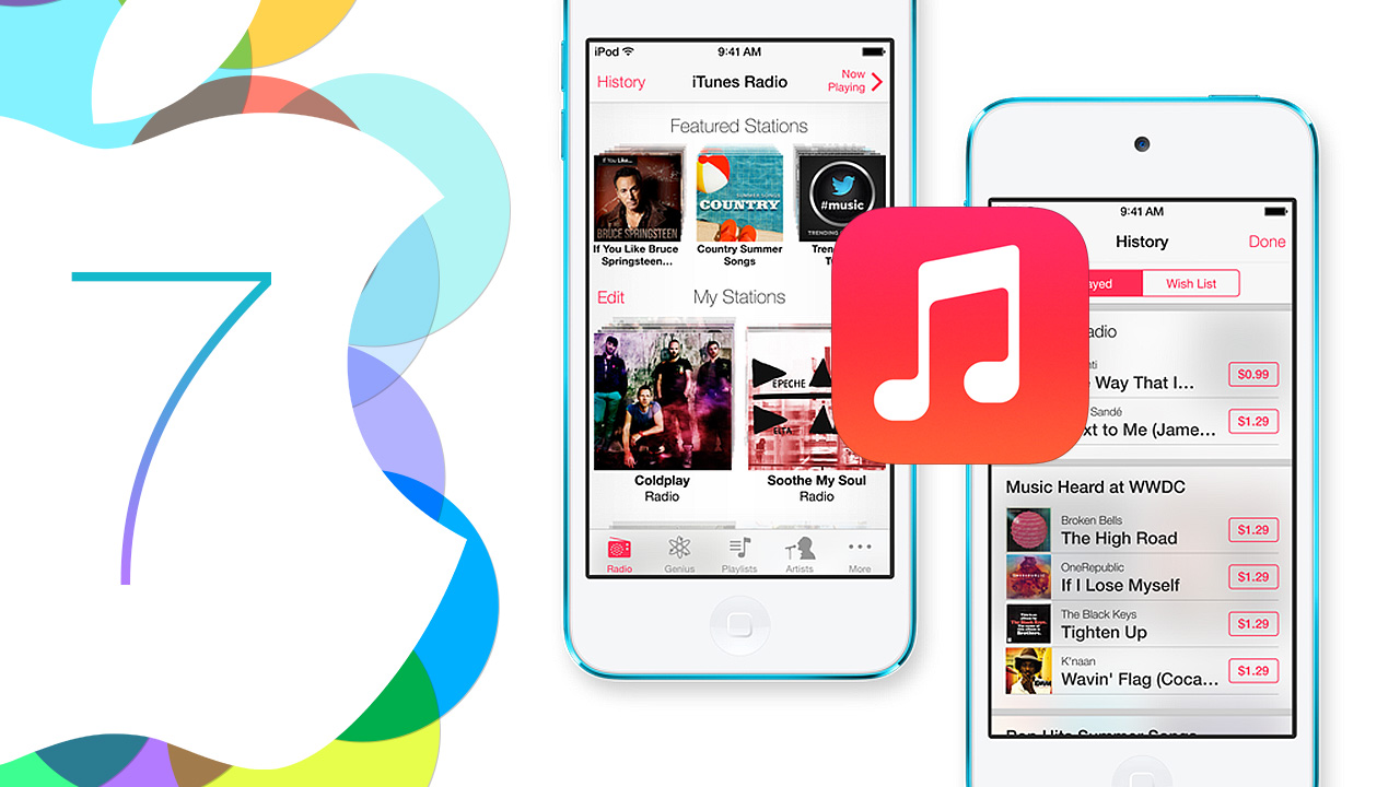 Apple presents iTunes Radio, its free streaming music service