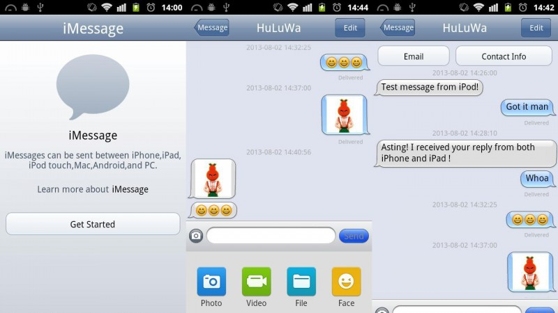 Unofficial iMessage app for Android presents huge security risk