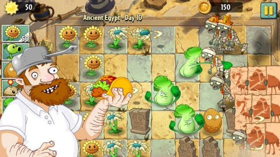 plants vs zombies crazy dave taco