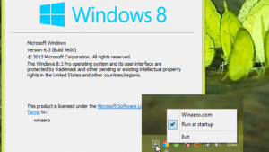 StartIsGone removes the Start button from Windows 8.1