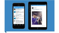 Twitter app redesigned for iOS 7