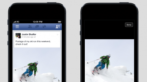 Facebook starts autoplaying user videos on mobile to prep for video ads