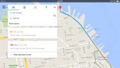 Google Maps for iOS updated with quick access to navigation