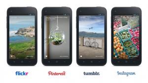 Facebook Home update integrates Instagram, Tumblr, Flickr
