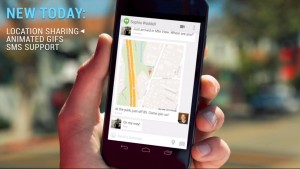 Google Hangouts for Android gets location sharing, animated gifs and SMS integration