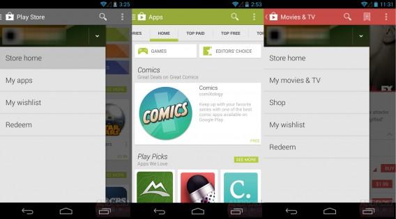 Google Play 4.4 via Android Police