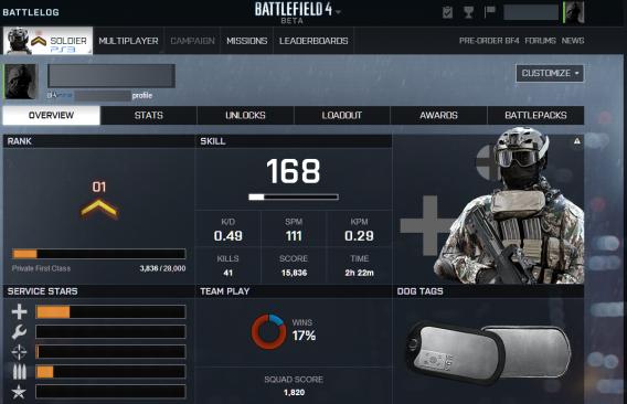 Battlefield Battlelog vs Call of Duty Elite: which is the better
