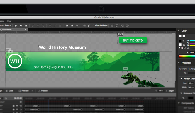 Google launches free Web Designer for PC and Mac
