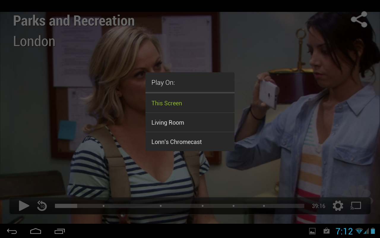 Hulu Plus joins Chromecast apps list