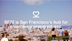 San Francisco launches SF72.com to prep for serious emergencies