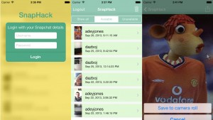 SnapHack app downloads Snapchats, bypasses screenshot alert