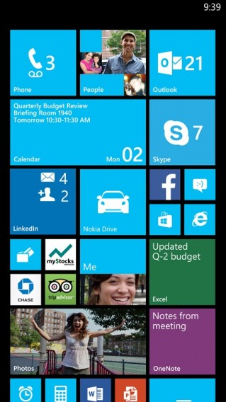 windows phone 3rd column