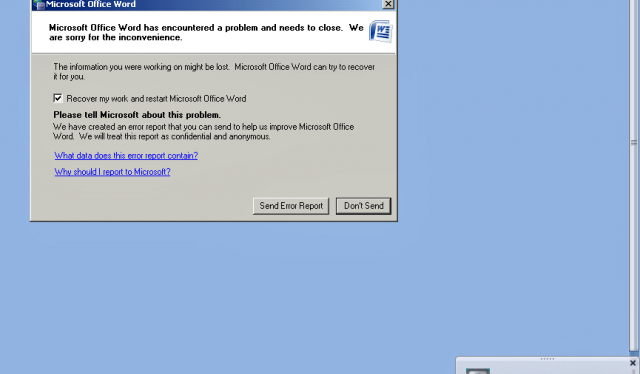 Microsoft Office vulnerability