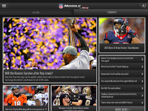 NFL Mobile iOS