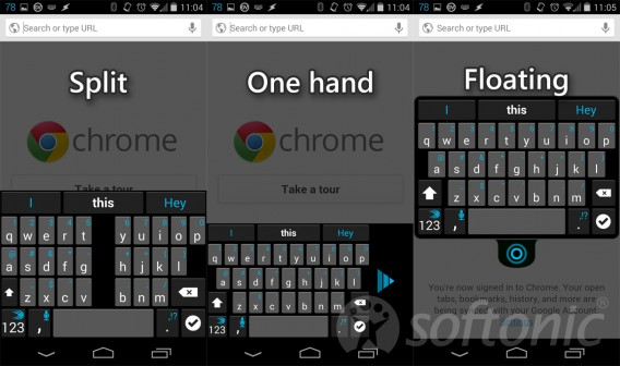 SwiftKey custom keyboards updated