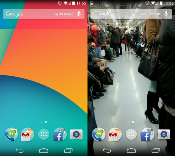 Android 4.4 KikKat: une interface modernisée