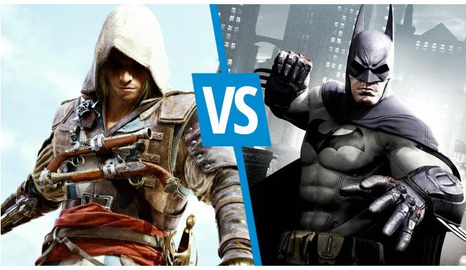 Batman: Arkham Origins vs Assassin's Creed 4