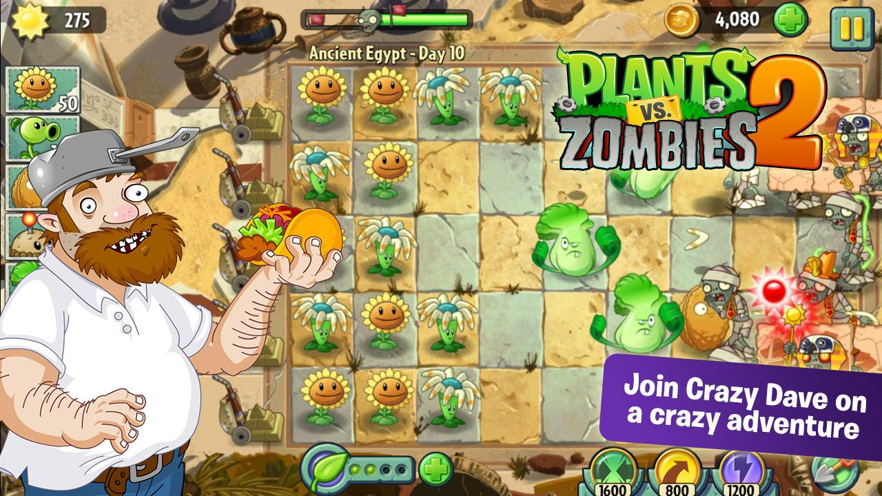 Opinions about Plants Vs Zombies 2