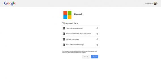 Microsoft Account Authorization