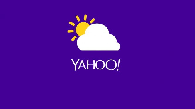 Yahoo-Weather-Header