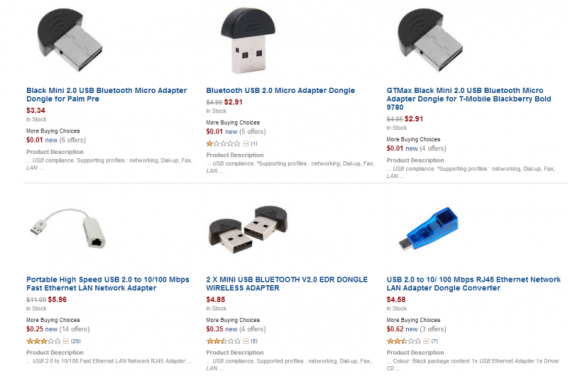 Buy an adapter online