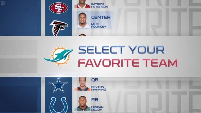 NFL Now teams