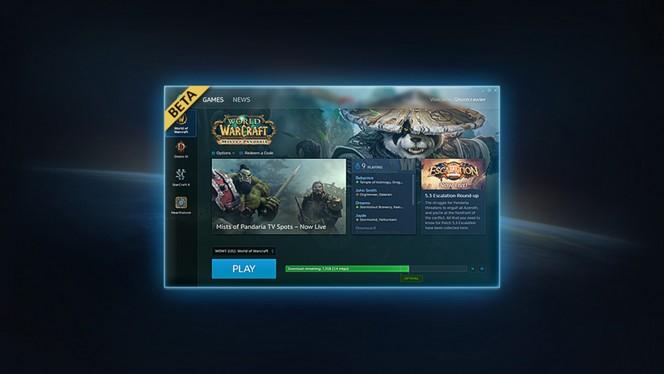 Battle-net app header