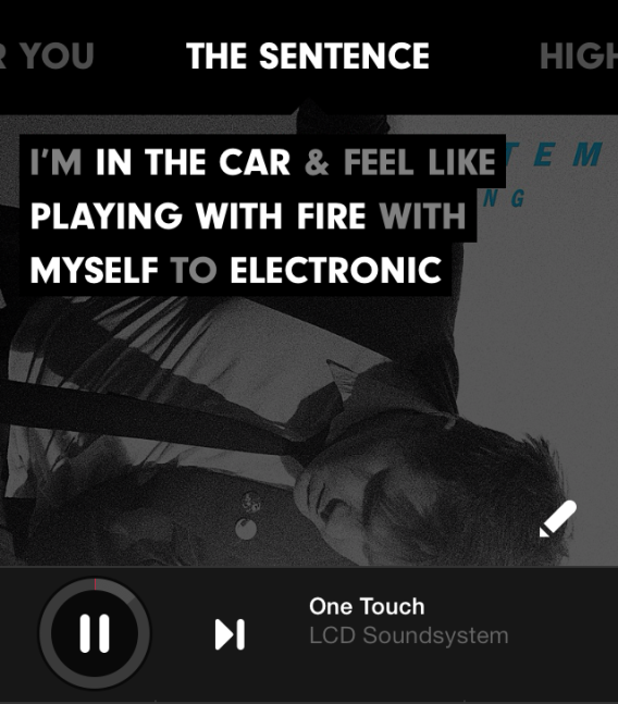 Beats Music The Sentence