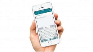 SwiftKey Note may bring the gesture keyboard to iOS