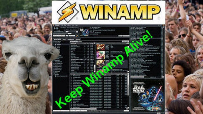 Winamp petition header