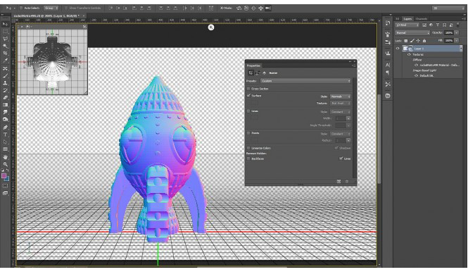 Photoshop goes 3D: the great new version of CC