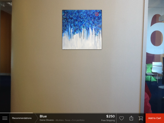 ARTtwo50 recommendation on wall