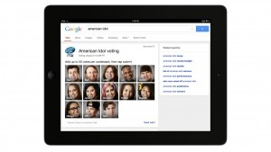 Use Google to vote for 'American Idol'