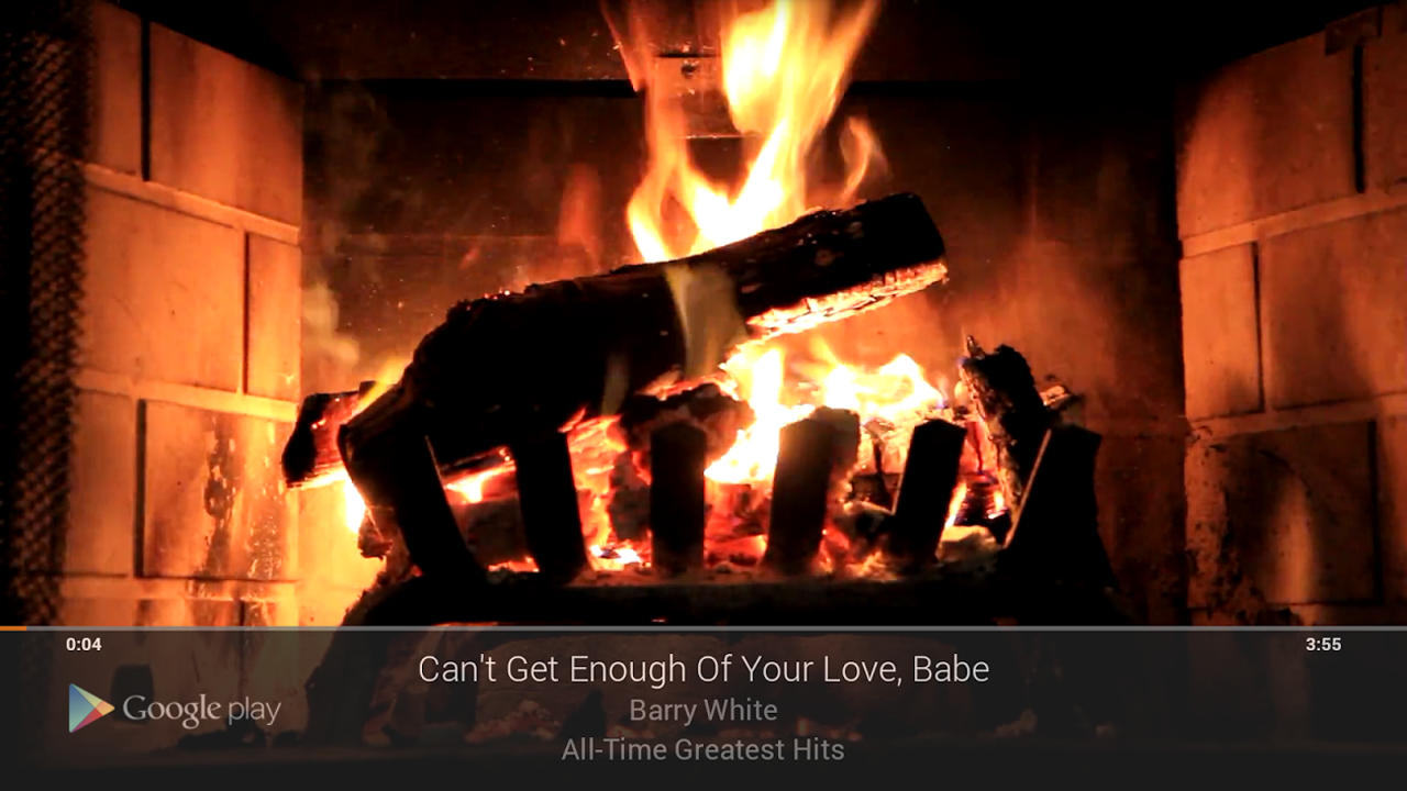 Google gets romantic on Valentine's Day with Chromecast fireplace mode, Auto-Awesome hearts