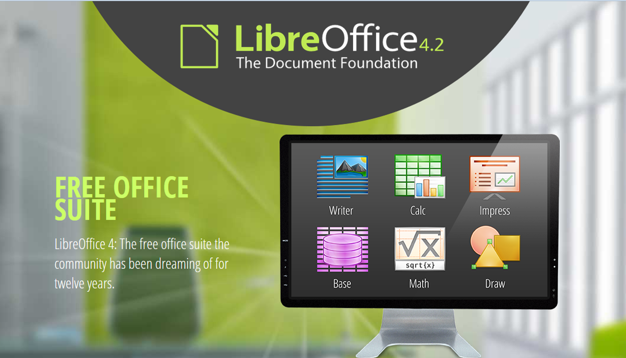 LibreOffice updated to 4.2 with better Microsoft Office compatibility