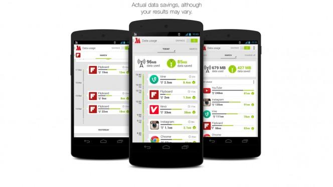 Opera Max beta header