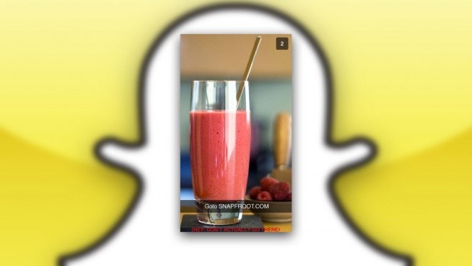 Snapchat smoothie hack header